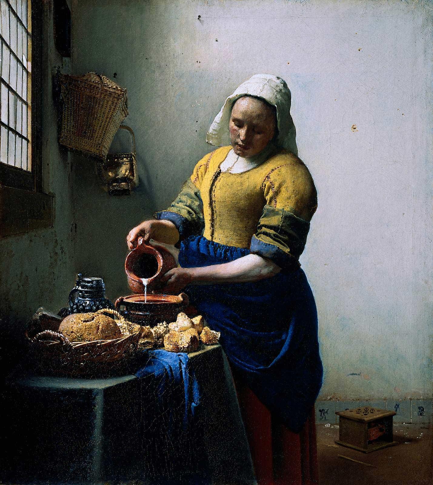 La Laitière De Vermeer